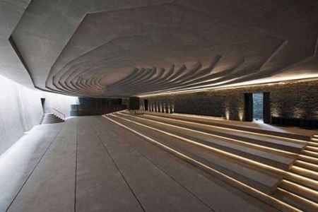 عمارت های خیره کننده زیر زمین ! (عکس)