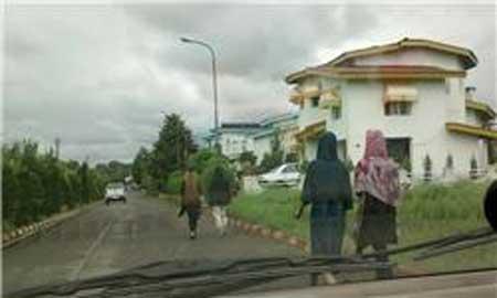این هم حیات خلوت زنان بی حجاب (عکس)