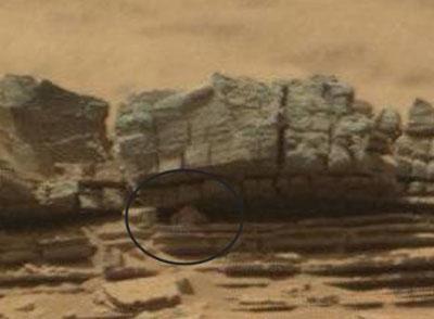 کشف یک موجود بسیار عجیب در مریخ (عکس)