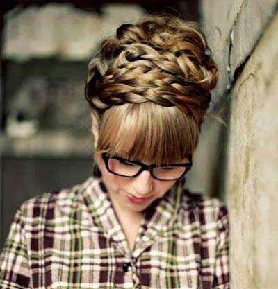 زیباترین مدل موهای بافت دخترانه