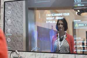 آینه هوشمندی که بیماری شما را تشخیص می دهد!