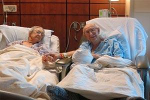 اتفاقی جالب در بیمارستان امریکا (عکس)