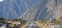 این هم مرگبار و خطرناک ترین فرودگاه جهان (عکس)