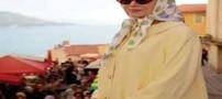 خانم های معروف و بازیگر هالیوودی با حجاب (عکس)