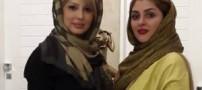 عکسی از نیوشا ضیغمی با حجاب چادر در مشهد