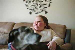 عکس های تنها دختر عجیب دنیا (عکس)