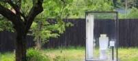 آرام بخش ترین توالت عمومی در جهان ! (عکس)