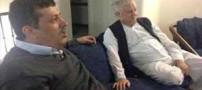هاشمی رفسنجانی در لحظه خداحافظی به پسرش چه گفت؟