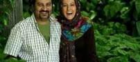 شوخی ترسناک مهراب قاسم خانی با همسرش! (عکس)