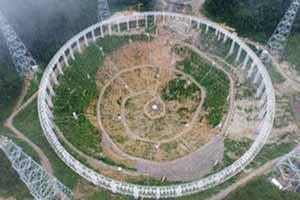 بزرگترین رادیو تلسکوپ دیدنی دنیا (عکس)
