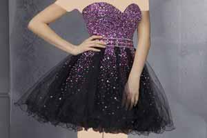 جدیدترین مدل های لباس شب کوتاه 2015