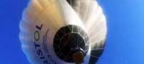 پرواز نخستین بالن خورشیدی جهان (عکس)