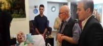 بازیگر  پیشکسوتی که مخفیانه روی تخت بیمارستان است !