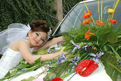 جنجال عکس های عروس و داماد 10 ساله ایرانی !