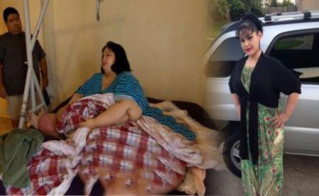 اندام حیرت انگیز این زن پس از 300 کیلو لاغری! (عکس)
