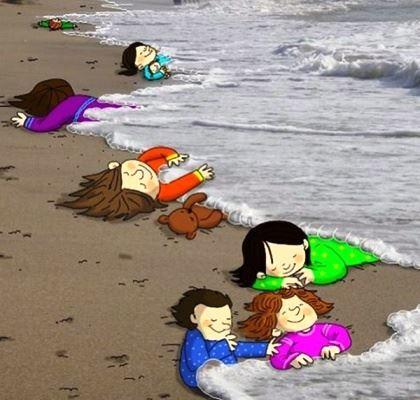 واکنش زیبای بهرام رادان به به مرگ جنجالی کودکان سوری (عکس)