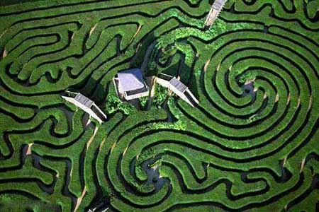 عکس هایی زیبا از باغ های پیچ در پیچ جهان