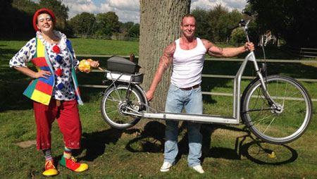 دوچرخه ی عجیبی که با آن پیاده روی می کنید!! (عکس)