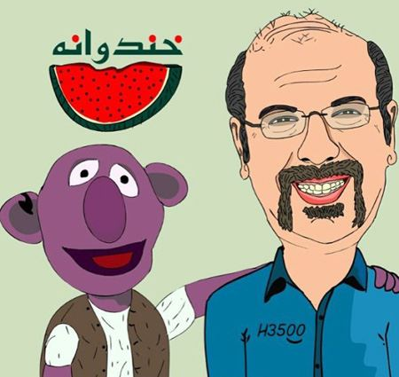 کاریکاتورهای خنده دار و جالب برنامه خندوانه