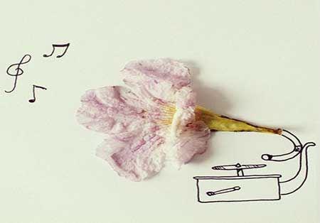 نقاشی های دیدنی با ترکیب ابزار آلات!!