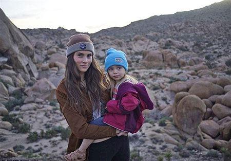 دختر عجیب 3 ساله ای که قله های امریکا را فتح می کند (عکس)