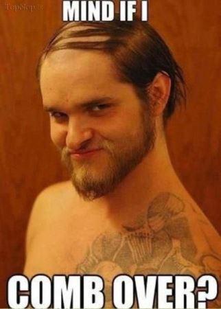عکس های خنده دار مدل موهای افراد کچل !