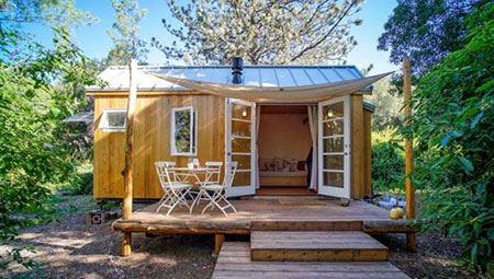 گالری دیدنی کوچکترین خانه های جهان کمتر از 20 متر!