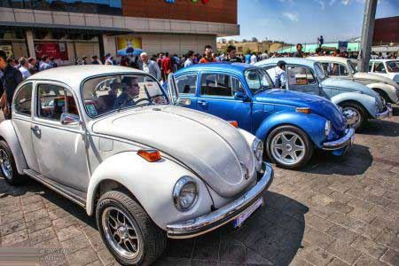 فستیوال جالب رژه ماشین های کلاسیک در تبریز
