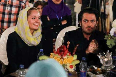 جدیدترین عکس های مهناز افشار و همسرش در خانه سینما
