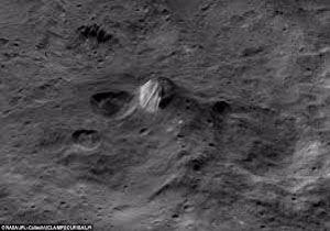 عکس های شوکه کننده از دریاچه ای در مریخ