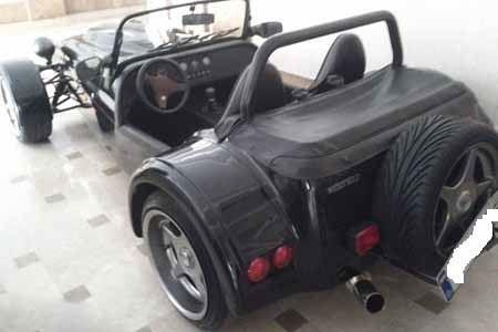 تنها خودروی عجیب در ایران در پایتخت به فروش رسید (عکس)