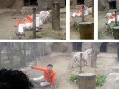 اقدام عجیب این مرد بخاطر افسردگی (عکس)