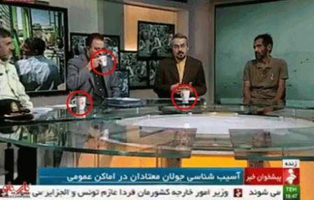 برخورد بسیار زشت شبکه خبر با مهمان برنامه (عکس)