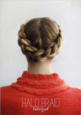 آموزش تصویری بستن مدل موهای متنوع و شیک