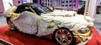عجیب ترین خودروی جهان در نمایشگاه چین (عکس)