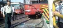 جزئیات عجیب برخورد اتوبوس به عابر پیاده در تهران