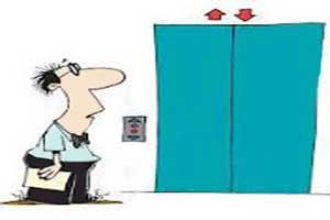 رفتارهای خنده دار و طنز در آسانسور