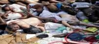 غمبارترین عکس های کشته شدگان رمی جمرات