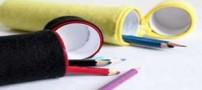 آموزش ساده و جالب ساخت جا مدادی