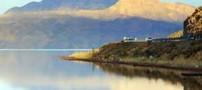 دریاچه زیبا و دیدنی مهارلو در نزدیکی شیراز (عکس)