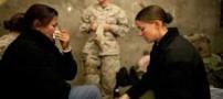 عکس های سوء استفاده جنسی از نظامیان زن زیبای آمریکایی
