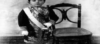 عکس های دیدنی کودکی آخرین پادشاه قاجار