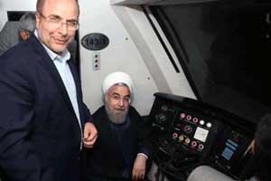 عکس های دیدنی مترو سواری رئیس جمهور دکتر روحانی