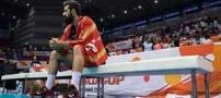 اتفاق بسیار عجیب در دیدار والیبال ایران و ایتالیا !