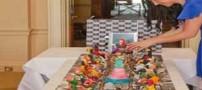 عکس های دیدنی گران ترین کیک جهان