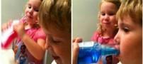 بهترین زمان شروع دهان شویه در کودکان