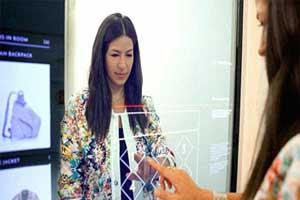اختراع آینه جادویی برای پرو لباس