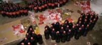 چندش آورترین عکس ها از محل تولید نوشابه کوکاکولا !