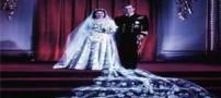 کیک عروسی و جنجالی ملکه الیزابت (عکس)