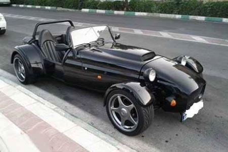 فروش یک خودرو خاص و عجیب در تهران (عکس)
